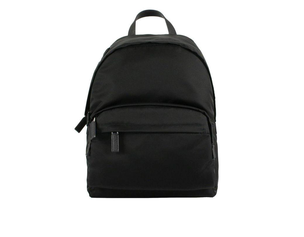 a8123caa4111 Prada Backpack Bags Men in Black for Men - Lyst