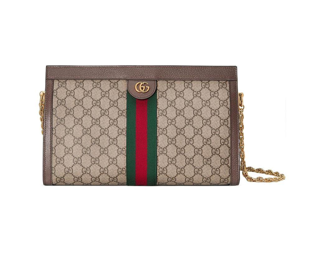 76db22634ab Lyst - Gucci Ophidia GG Medium Shoulder Bag - Save 30%