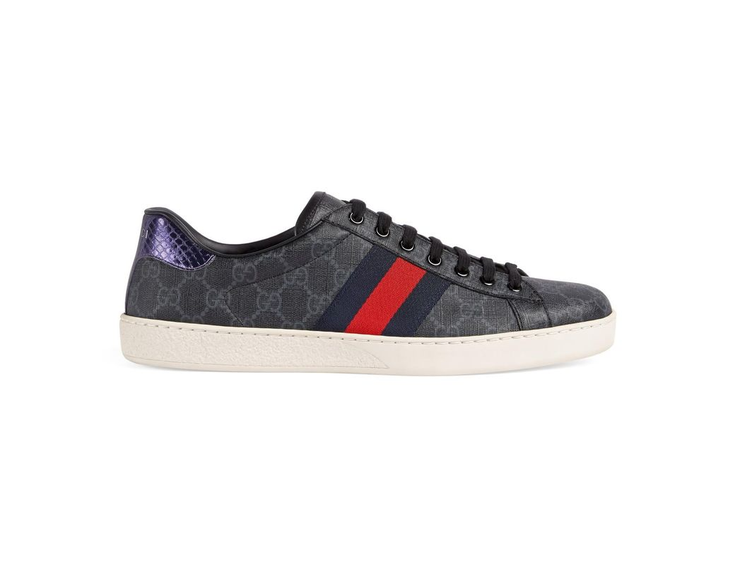 821372f0099 Lyst - Gucci Ace GG Supreme Sneaker in Blue for Men