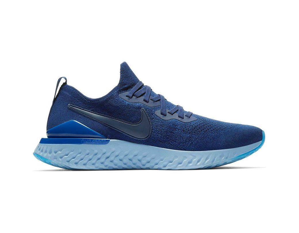 032578c5e6e5 Lyst - Nike Epic React Flyknit 2 Running Shoe in Blue for Men - Save 13%