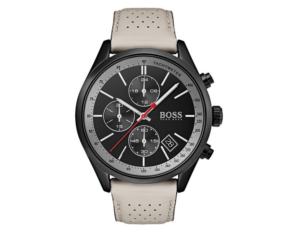 1cd8949b1 Long-Touch to Zoom. Long-Touch to Zoom. 1; 2; 3; 4. BOSS - Black 1513562 Men's  Grand Prix Chronograph ...