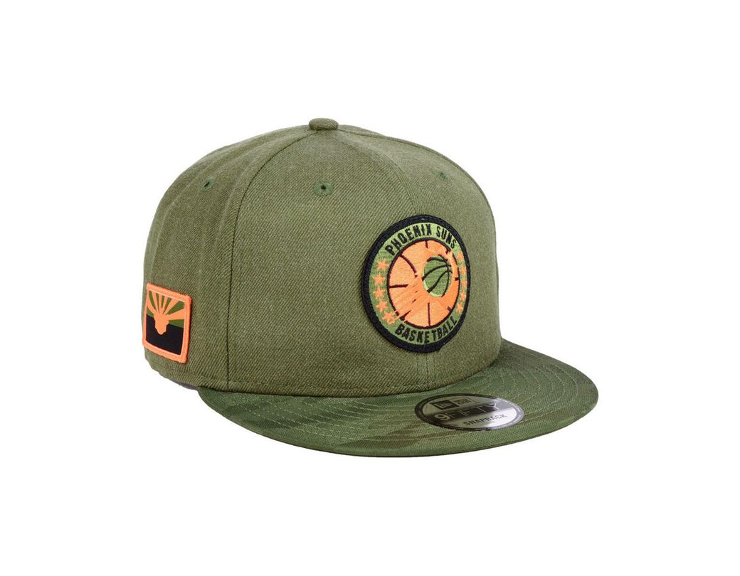 90b1f3dc8 Lyst - KTZ Phoenix Suns Tip Off 9fifty Snapback Cap in Green for Men