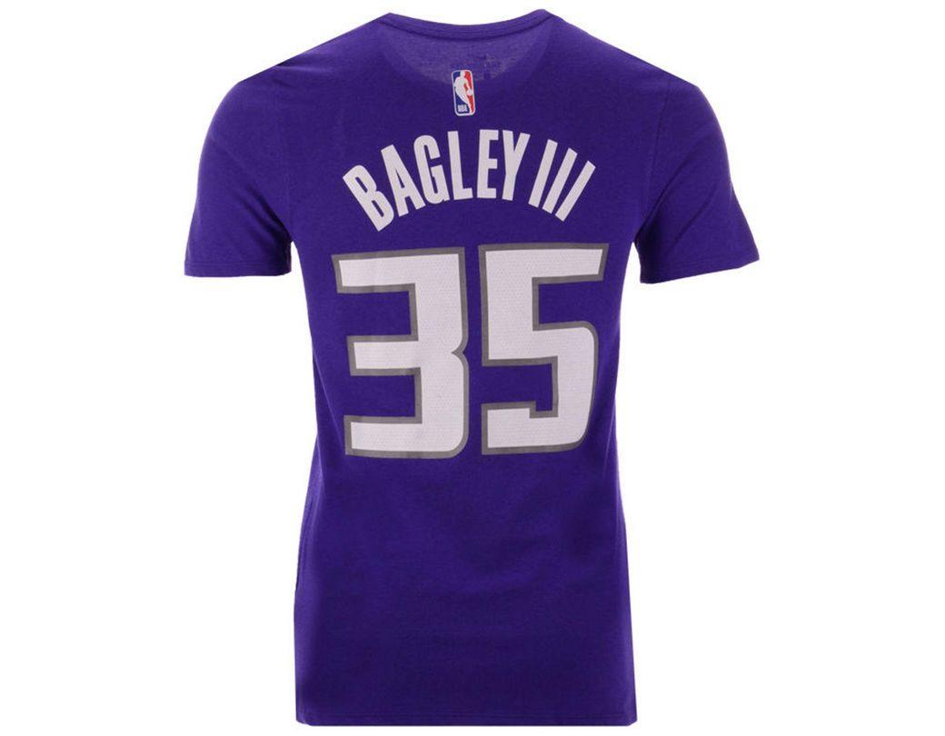 83a51fe35724 Lyst - Nike Marvin Bagley Iii Sacramento Kings Icon Player T-shirt ...
