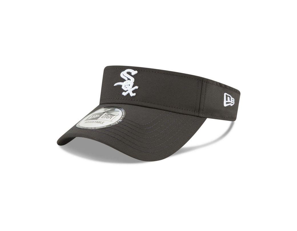 on sale 1f1ef 859bb KTZ. Women s Black Chicago White Sox Clubhouse Visor