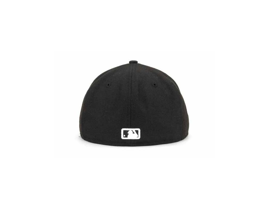huge discount 2542b 7ad81 KTZ Los Angeles Angels Of Anaheim Mlb Black And White Fashion 59fifty Cap  in Black for Men - Save 8% - Lyst