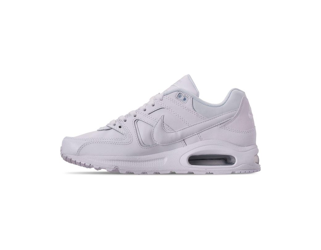 7050fdf656 Nike Air Max Command Leather Casual Sneakers From Finish Line in White for  Men - Lyst