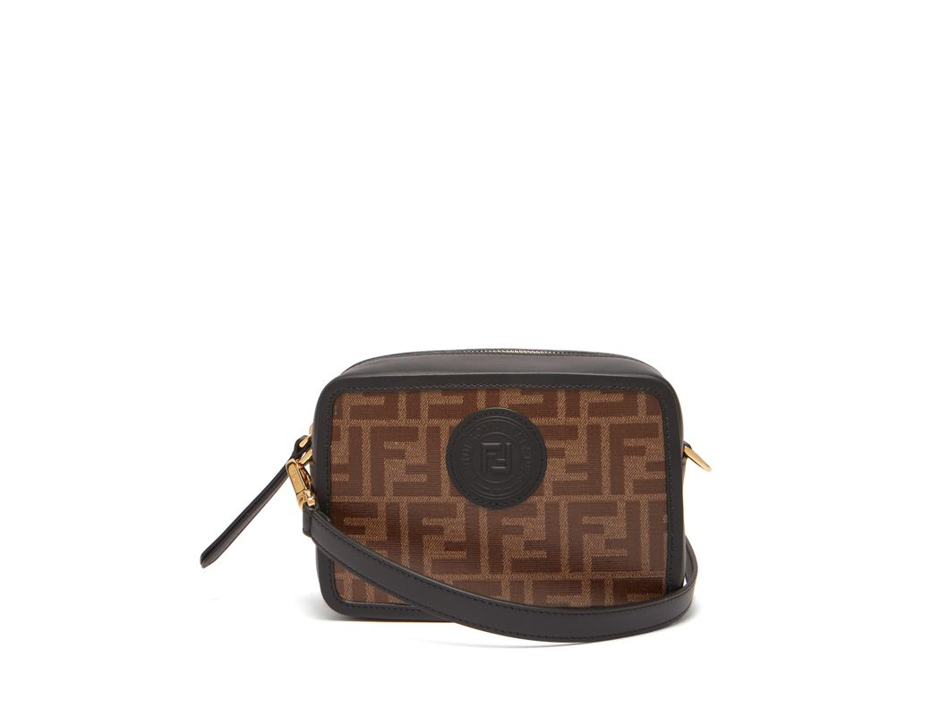 9baa407b9326 Fendi Ff Camera Bag in Brown - Save 30% - Lyst