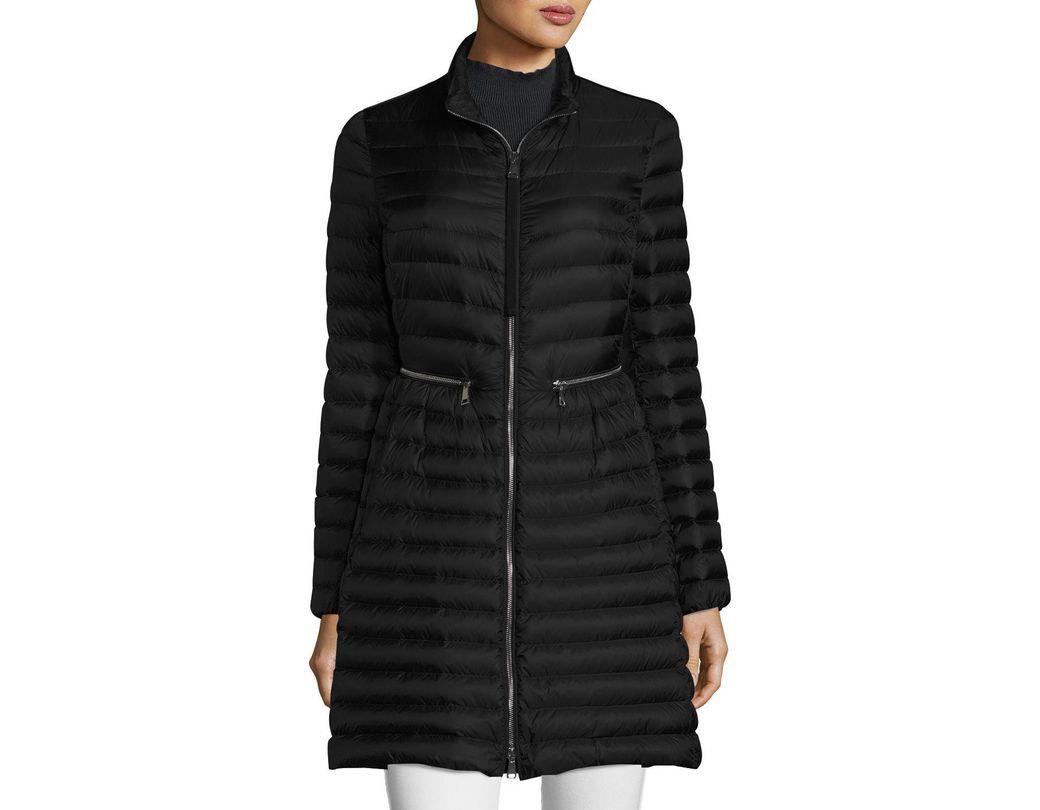 dbdd88088 Women's Black Agatelon Zip-front Quilted Puffer Coat