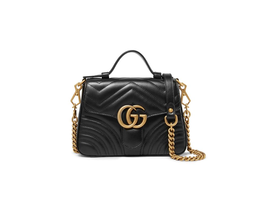 794831e370ae6 Gucci Gg Marmont Small Quilted Leather Shoulder Bag in Black - Save ...
