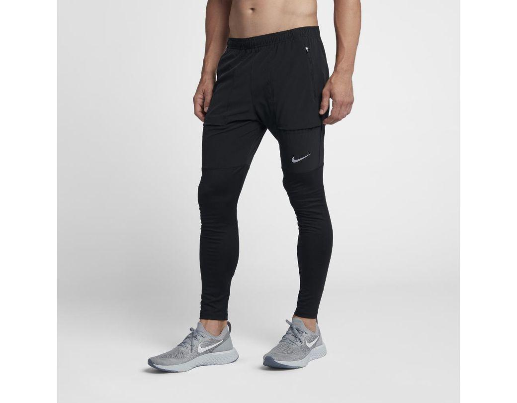 df33745c9b43 Lyst - Nike Essential Men s Running Pants in Black for Men