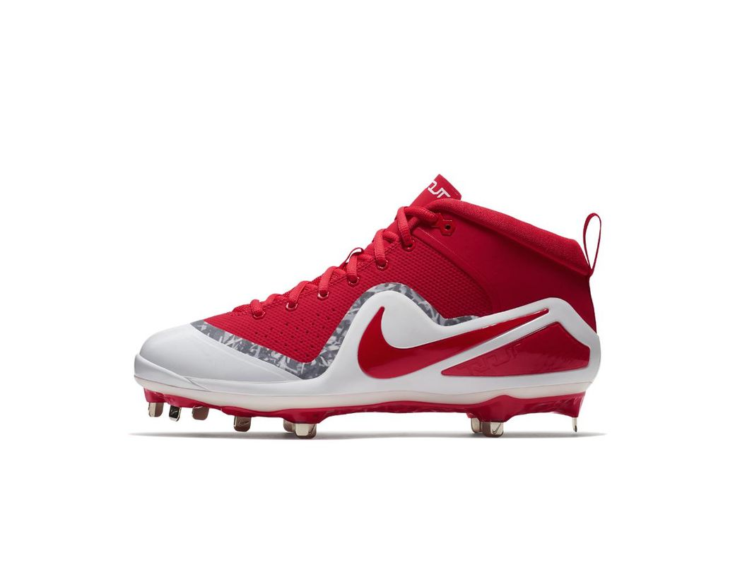 ac3daaf3c00a Lyst - Nike Force Zoom Trout 4 Men s Baseball Cleats in Red for Men