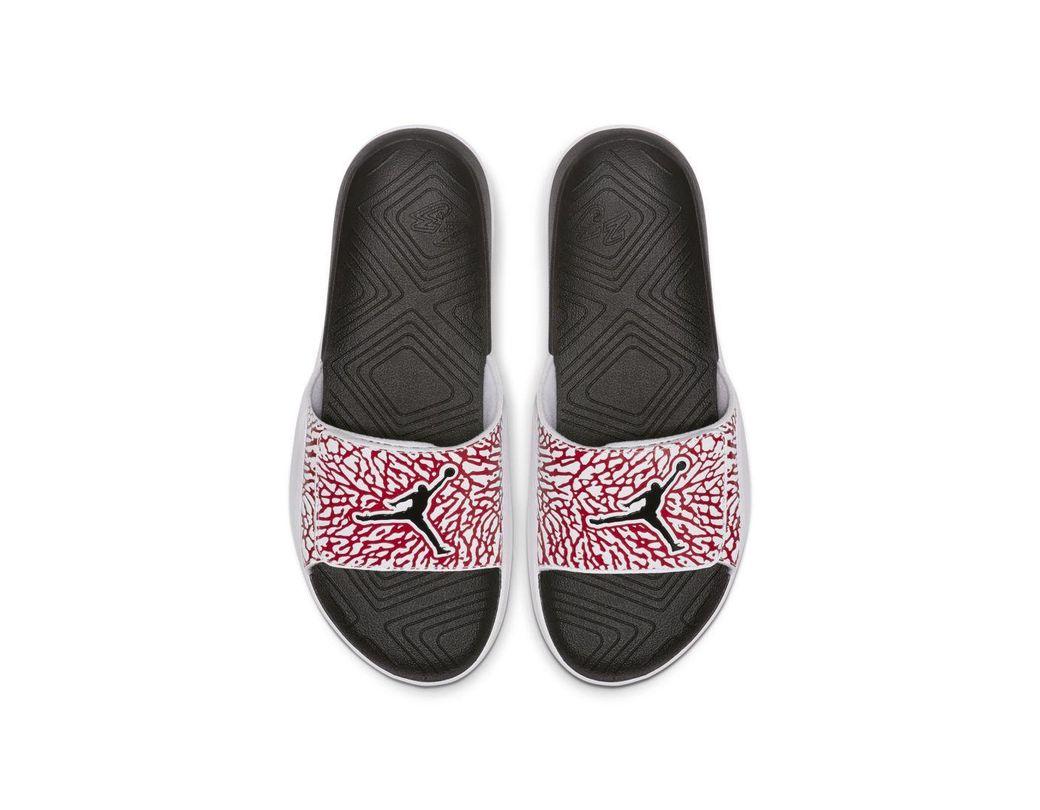 low priced d5c81 c702a Nike. Men s White Jordan Hydro 7 ...