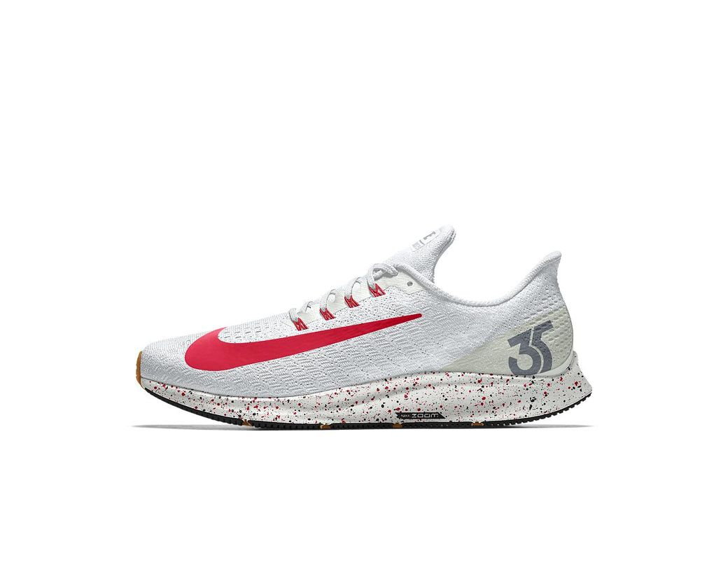 ffe8d18dc5fc Lyst - Nike Air Zoom Pegasus 35 Id Men s Running Shoe in White for Men
