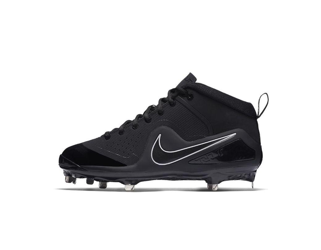 dc024457b893 Lyst - Nike Force Zoom Trout 4 Men s Baseball Cleats in Black for Men