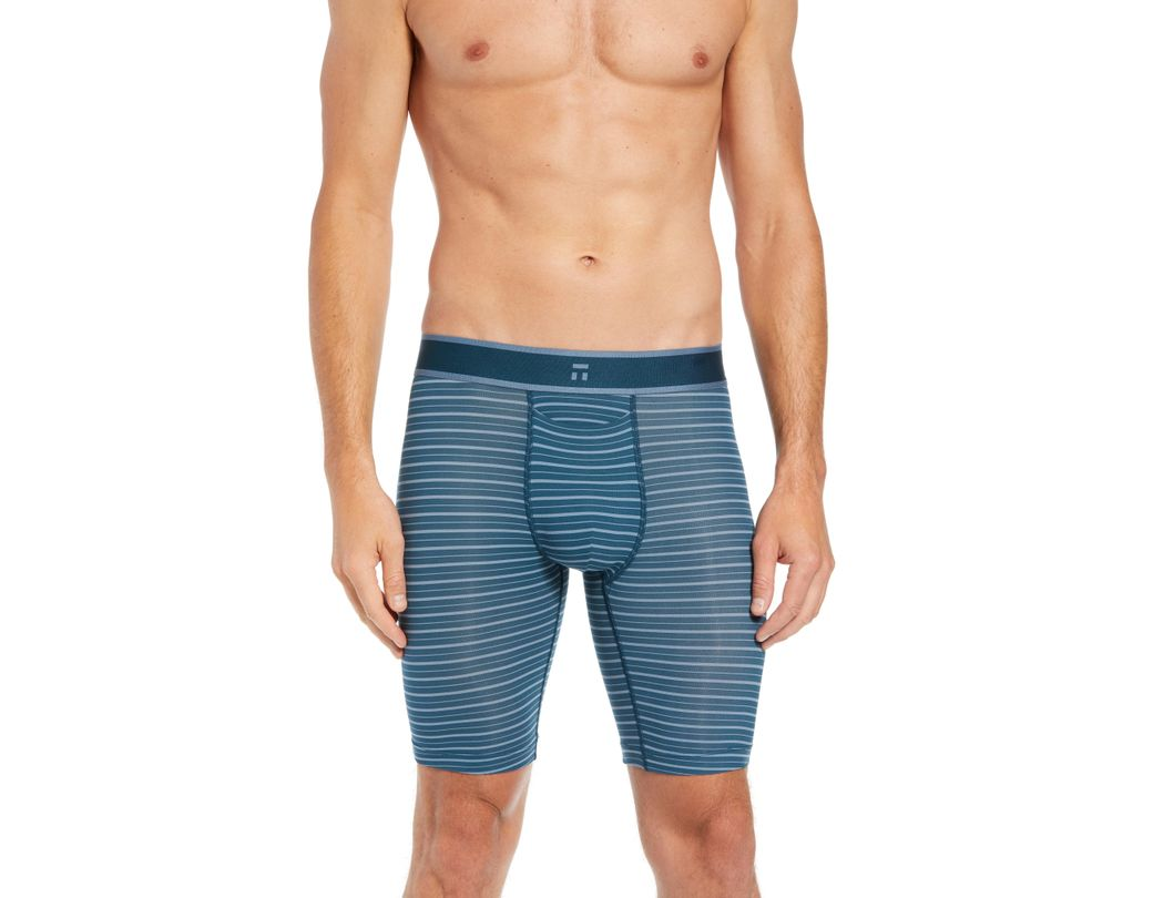 f6b3aed3294c Lyst - Tommy John Air Boxer Briefs in Blue for Men
