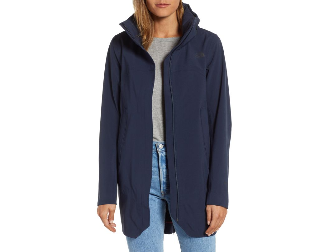 8c4593926 Lyst - The North Face Apex Flex Gore-tex Trench Coat in Blue