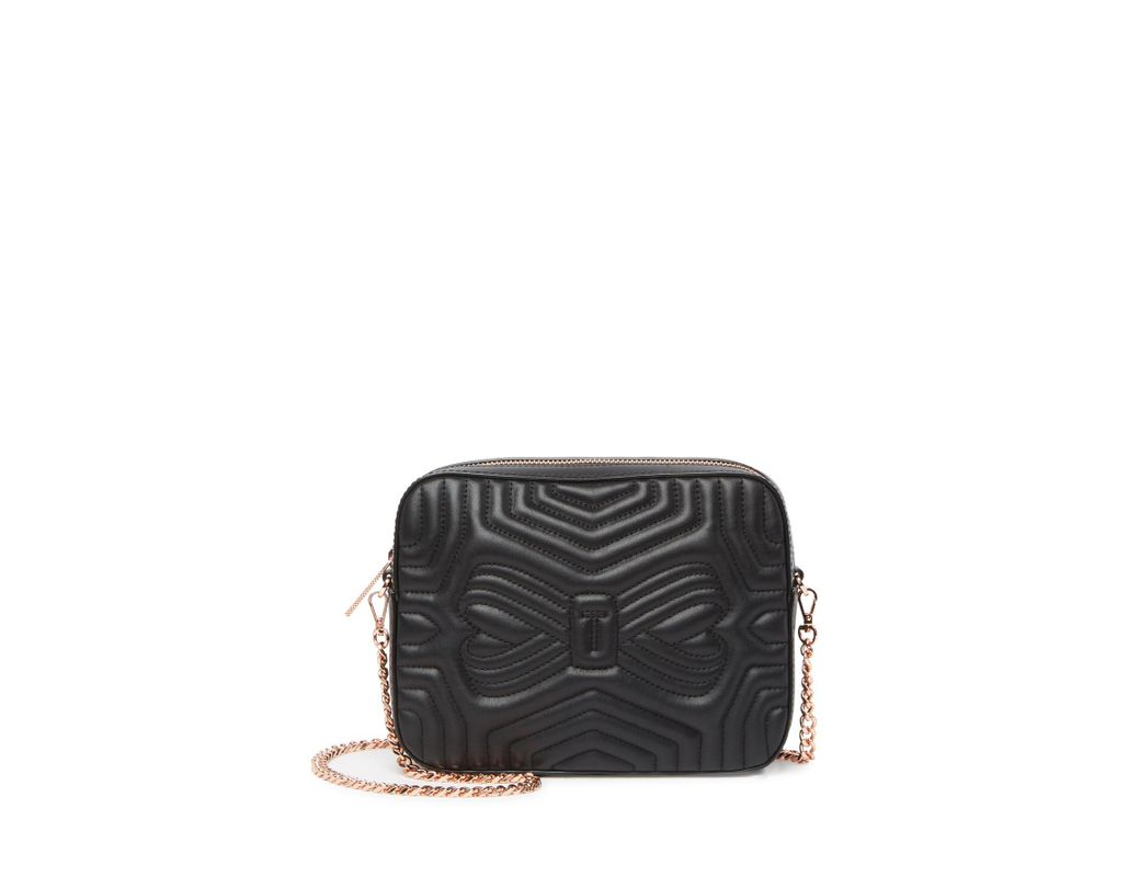 e21cd0fb64a7 Ted Baker. Women s Black Sunshine Leather Quilted Camera Bag.  195  95 From Nordstrom  Rack