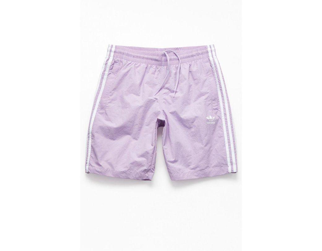 87a69095e9 Lyst - adidas Lavender 3-stripes 20