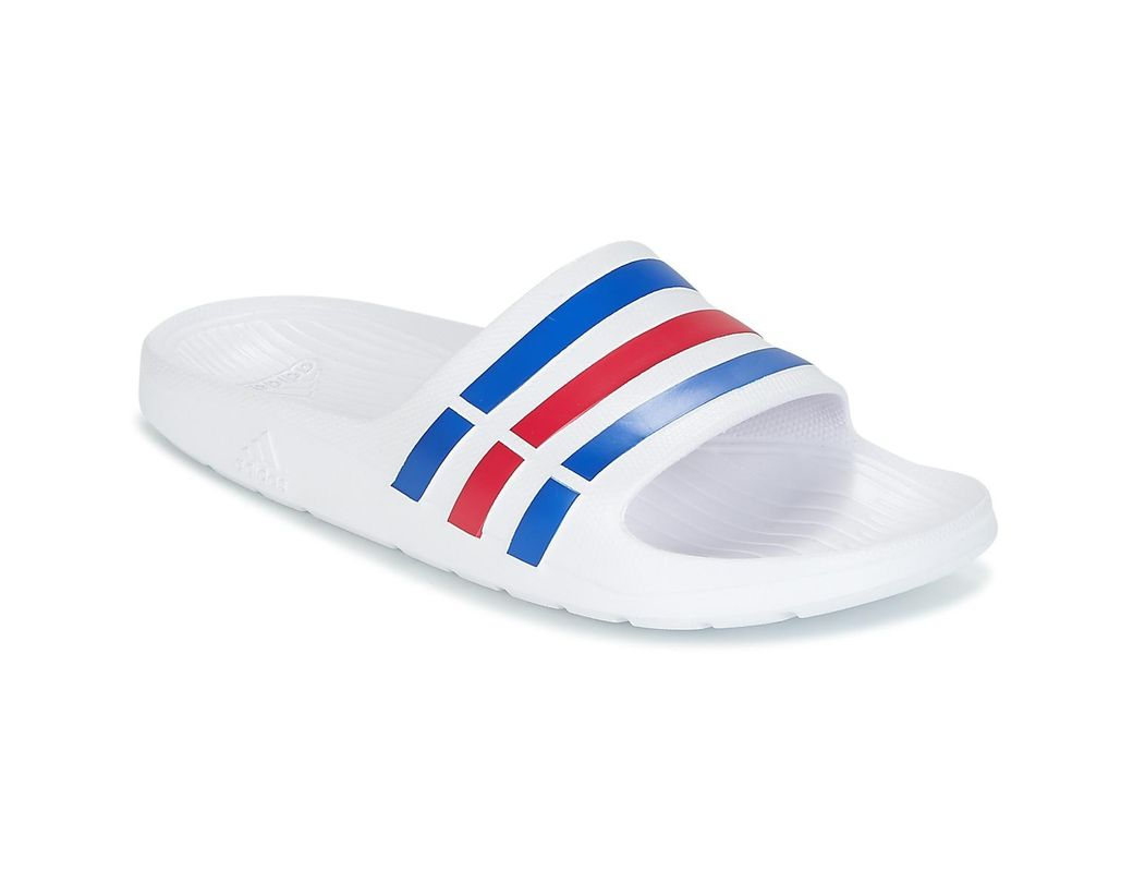 fb4444e41acd8 adidas Duramo Slide Tap-dancing in White for Men - Save 7% - Lyst