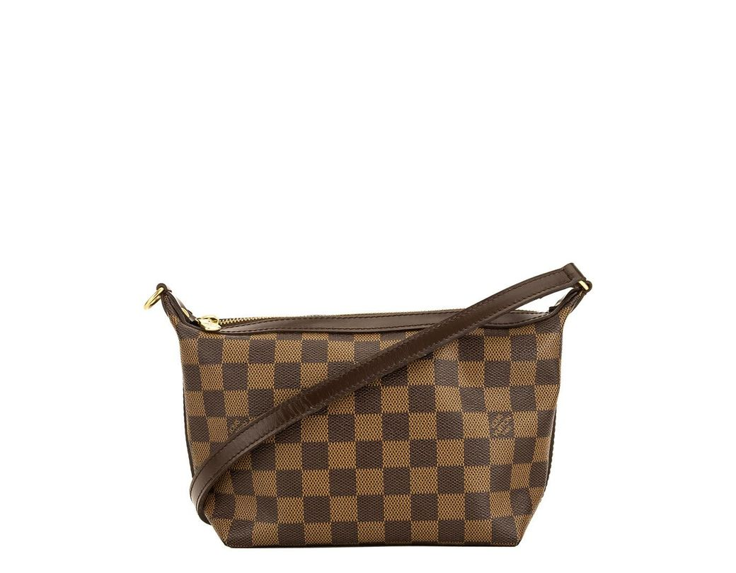88c127a12922 Lyst - Louis Vuitton Damier Ebene Canvas Illovo Pm in Brown