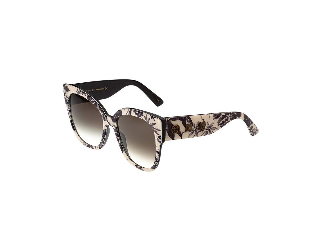 a0158a2bc6b Lyst - Gucci GG0059S-30001027004 55mm Sunglasses