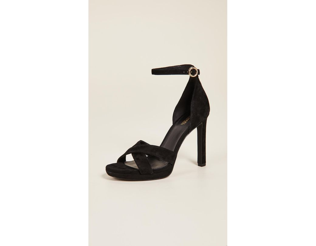 7a4759f5f10b Lyst - MICHAEL Michael Kors Alexia Ankle Strap Sandals in Black