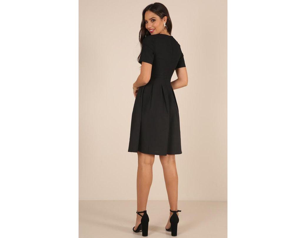 40e9ca0516d4 Showpo Meet The Parents Dress in Black - Save 5% - Lyst