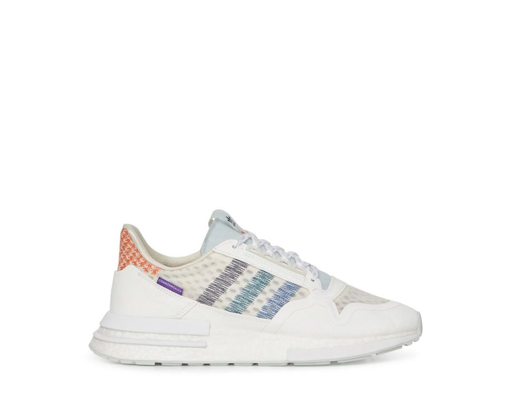 66caaab96c6ae adidas Originals. Men s Adidas X White Mountaneering Commonwealth Zx 500 Rm  Sneakers White.  173 From Slam Jam Socialism