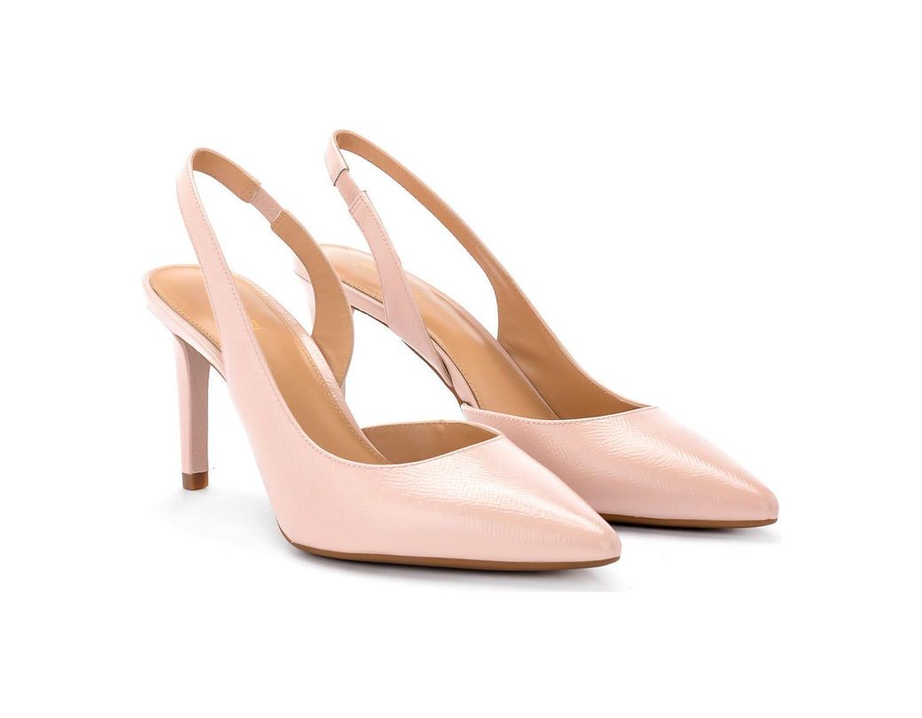 39fb92a18913b1 MICHAEL Michael Kors Lucille Pink Leather Décolleté Women's Court Shoes In  Pink in Pink - Lyst