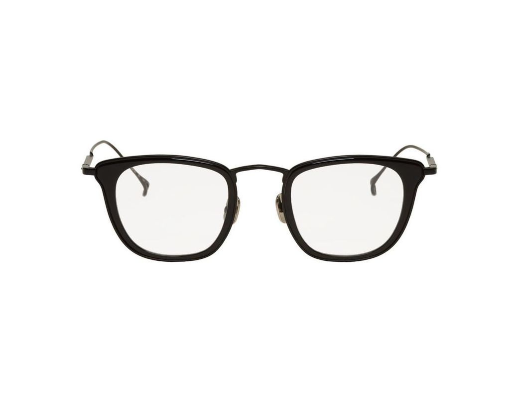 c4b6782c9a667 Issey Miyake Black Square Iii Glasses in Gray for Men - Lyst
