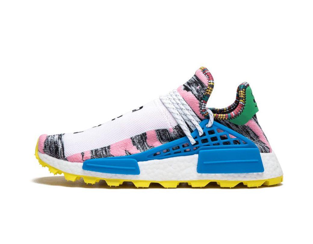 3bfcfadf7 Lyst - adidas Pharrell Williams Solar Hu Nmd in White for Men