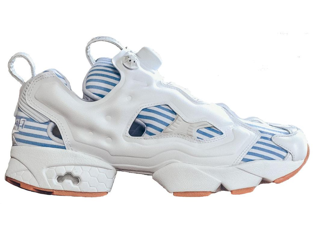 343331c4 Lyst - Reebok Instapump Fury Sneaker Politics Seersucker in Blue for Men