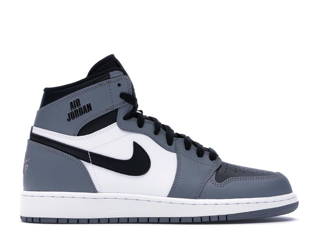 4fdb711a Lyst - Nike 1 Retro High Rare Air Cool Grey (gs) in Gray for Men