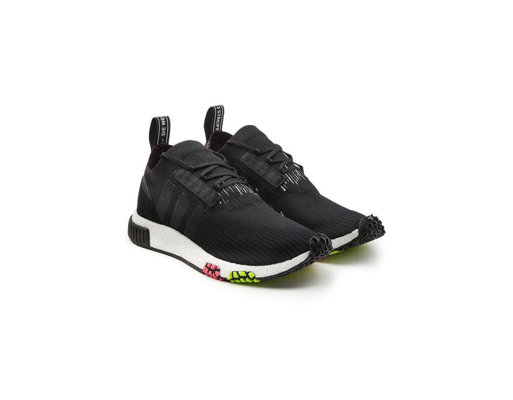 4854d1470 Lyst - adidas Originals Nmd Racer Primeknit Sneakers in Black for Men