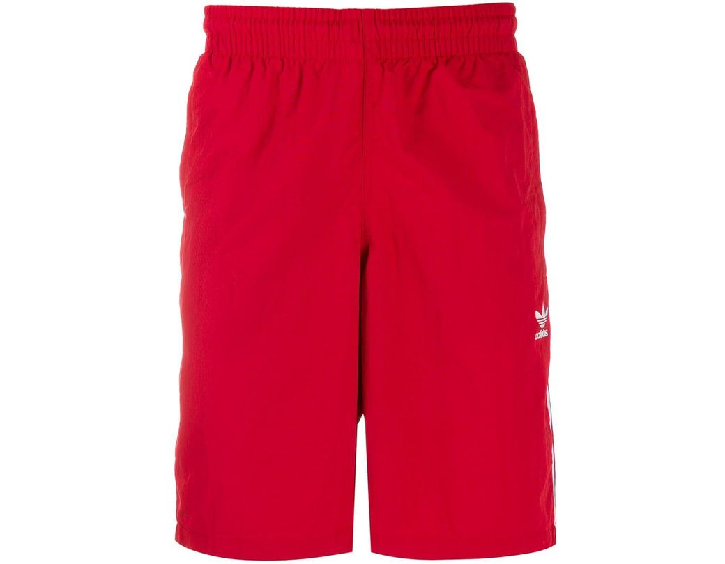 47430ad3fd8 Lyst - adidas 3-stripes Shorts in Red for Men