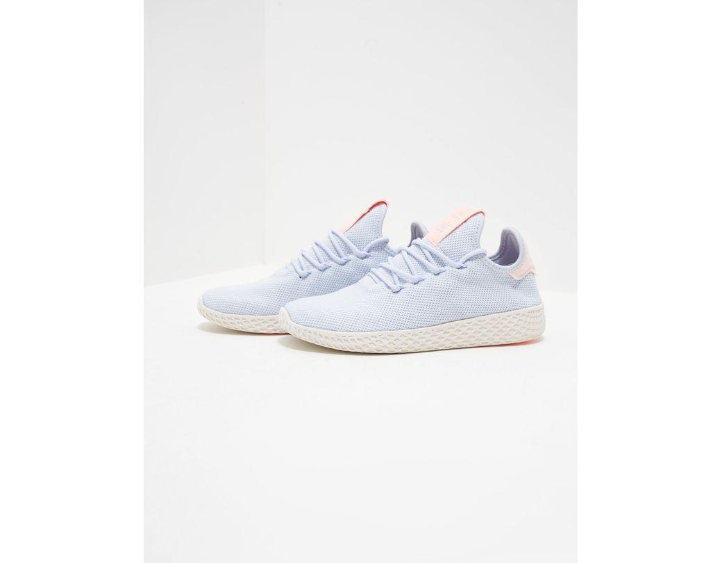 ec9d06781f46d Lyst - adidas Originals X Pharrell Williams Tennis Hu Trainers Blue ...