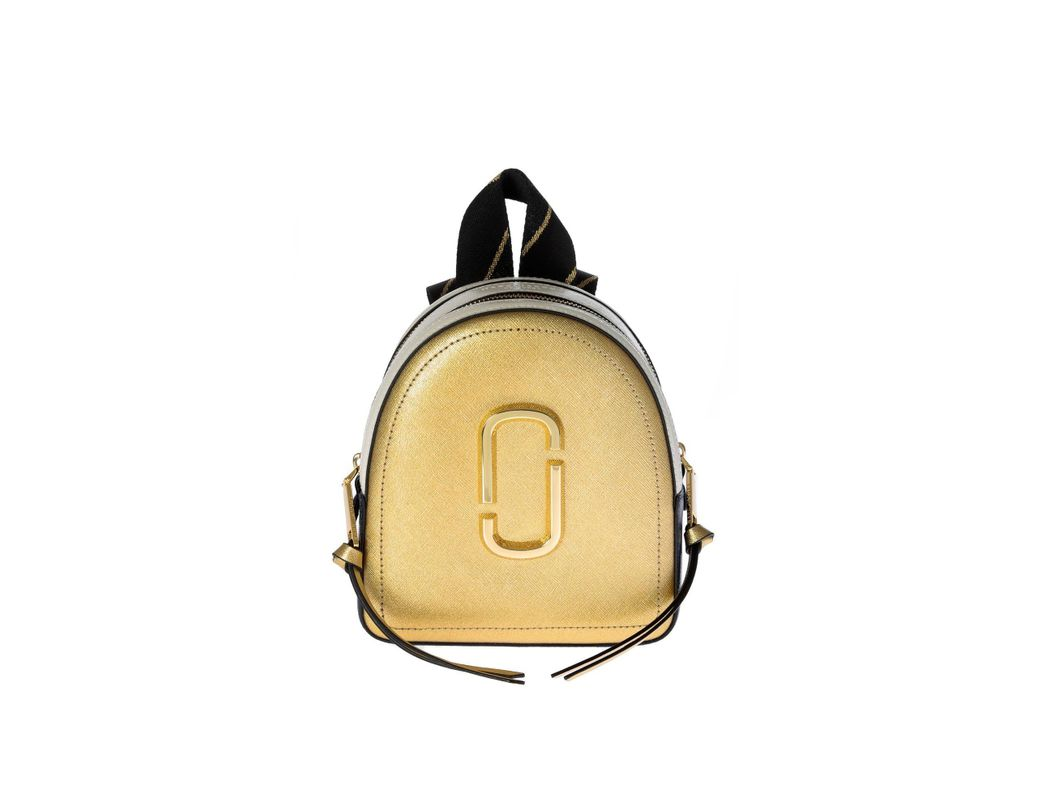 afe14a1c5f03 Lyst - Marc By Marc Jacobs Mini Pack Shot Backpack In Gold And Blue ...
