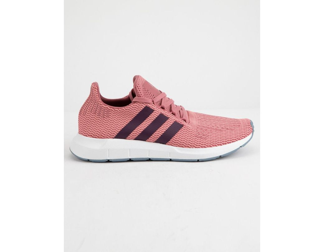 fa5af9cd19682 Lyst - adidas Swift Run Trace Maroon   Red Night Womens Shoes in Red