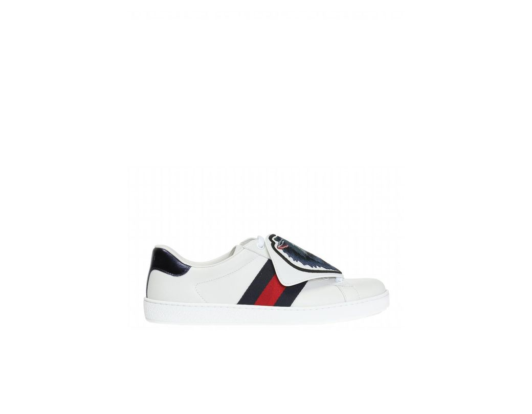 7231b0d2519 Gucci  ace  Sneakers in White for Men - Save 11% - Lyst