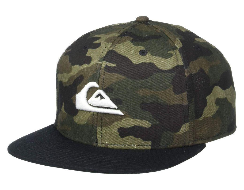 ec69b831a Lyst - Quiksilver Chompers Hat (light Grey Heather) Baseball Caps in ...