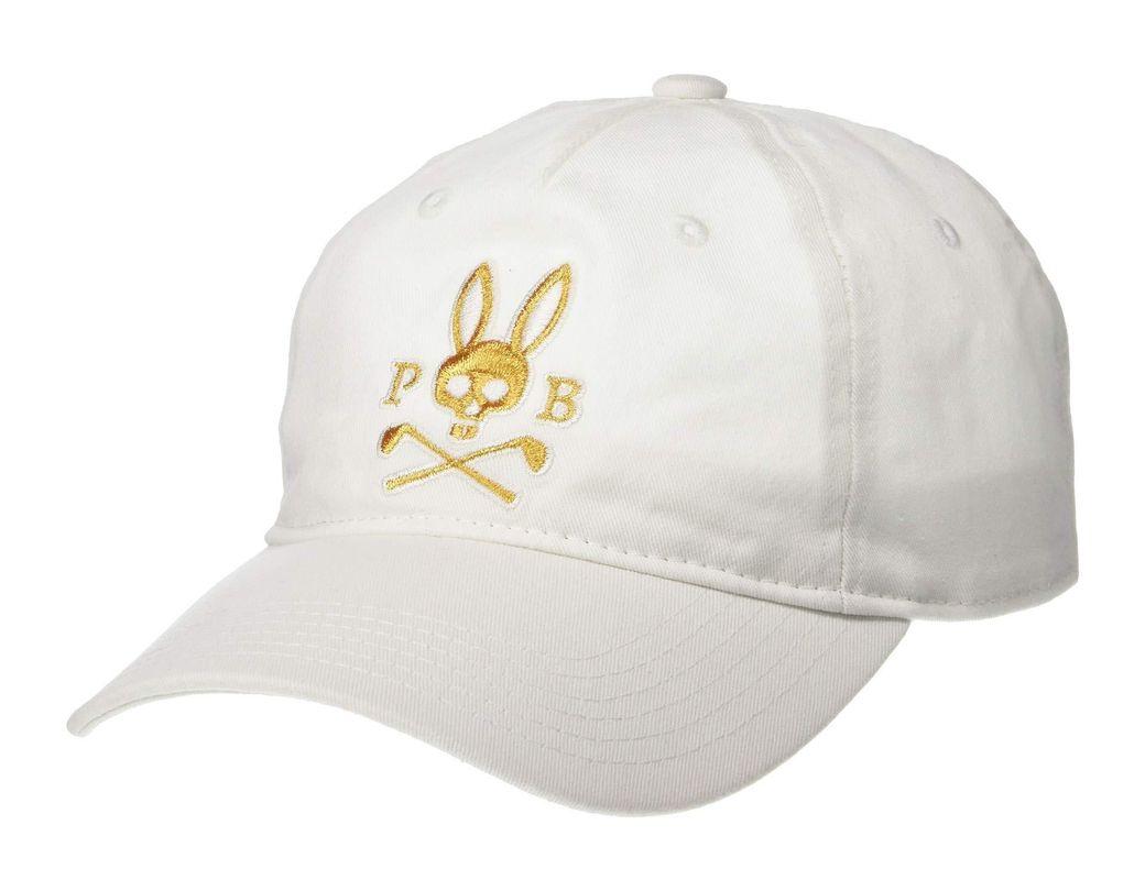 b317ad79f03 Lyst - Psycho Bunny Performance Twill Baseball Cap (navy) Baseball ...