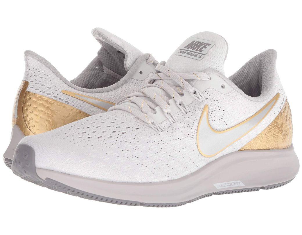c6ee50c1fbe Lyst - Nike Air Zoom Pegasus 35 Premium (vast Grey metallic Platinum ...