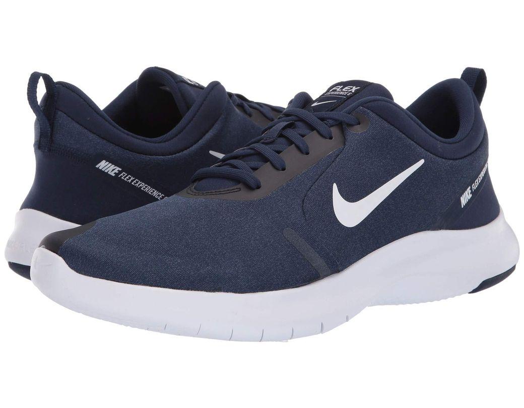 63244ea33de91 Nike. Flex Experience Rn 8 (midnight Navy white monsoon Blue) Men s Running  Shoes