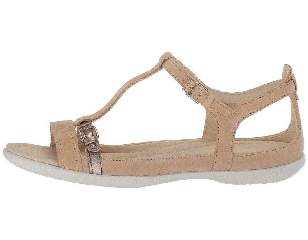 2a3be23245cb Lyst - Ecco Flash Buckle Sandal (powder warm Grey) Women s Sandals in Gray