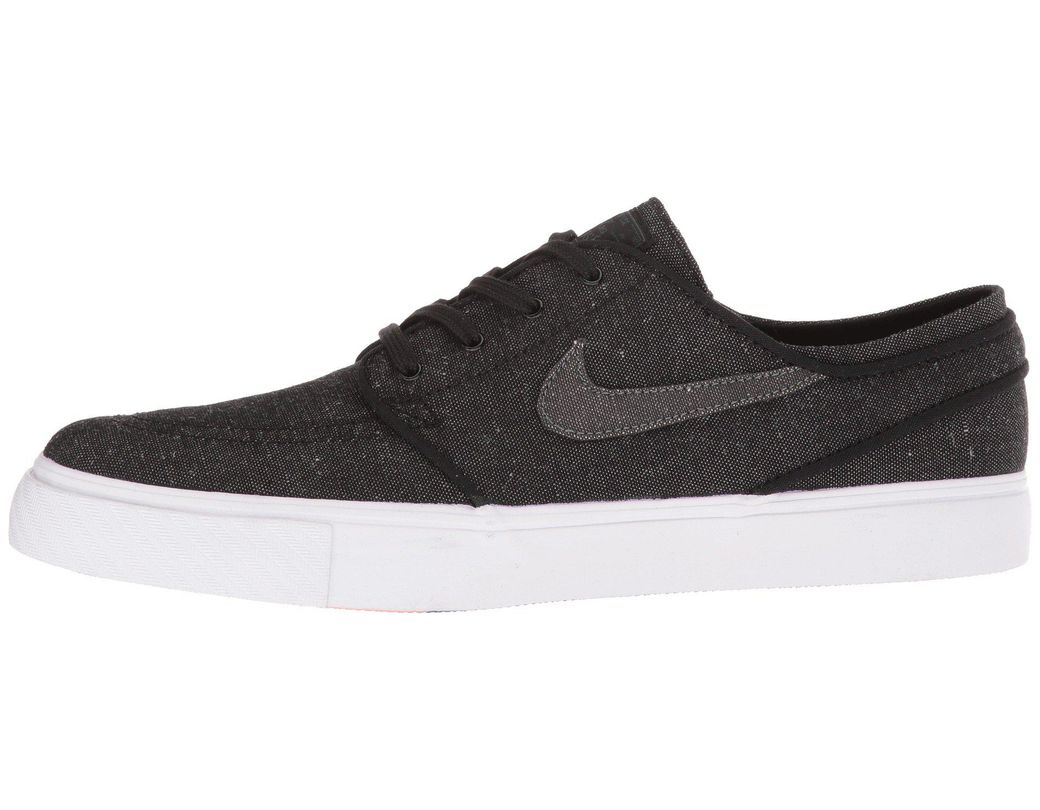 competitive price 85dab 5dccd Nike Zoom Stefan Janoski Canvas Deconstructed (black anthracite white hyper  Royal) Men s Skate Shoes in Black for Men - Lyst