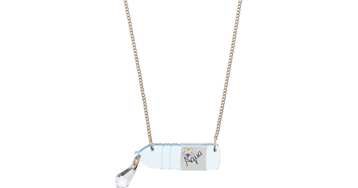 Tatty Devine - Multicolor Aquarius Birthday Necklace - Lyst