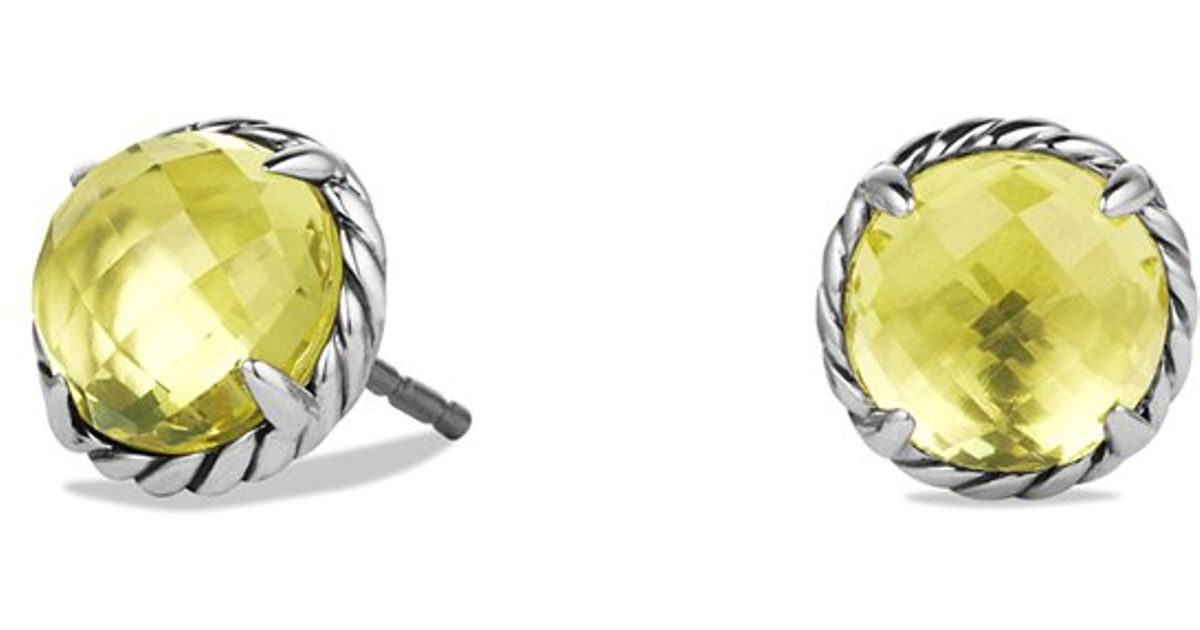 shop charms jude citrine large lemon judefrances original frances yellow earrings jewelry earring women