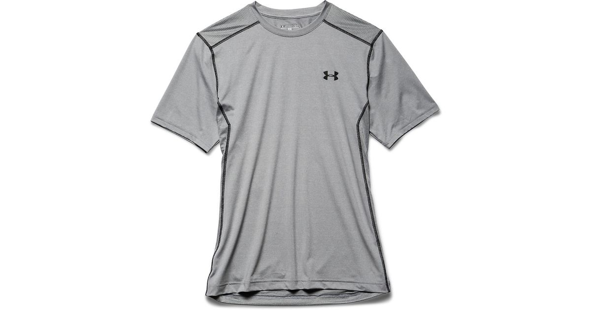 Under Armour Raid T Shirt In Gray For Men Grey Lyst