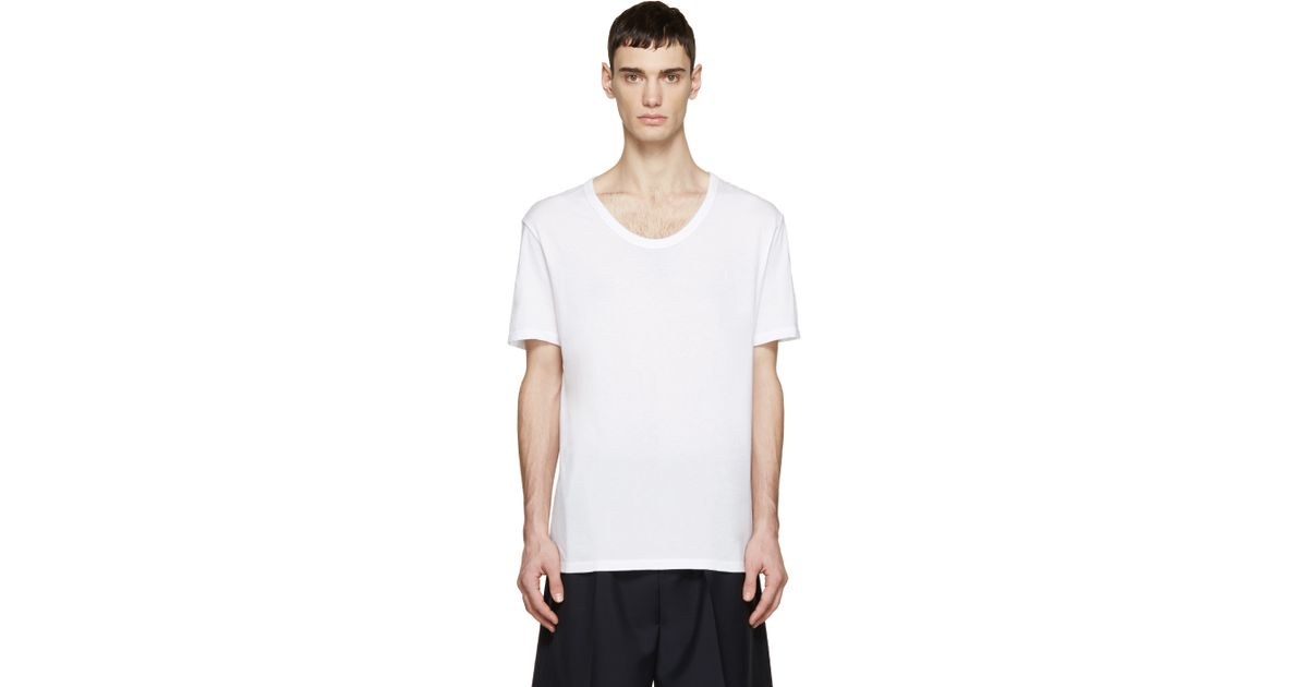 t by alexander wang white classic t shirt in white for men lyst. Black Bedroom Furniture Sets. Home Design Ideas