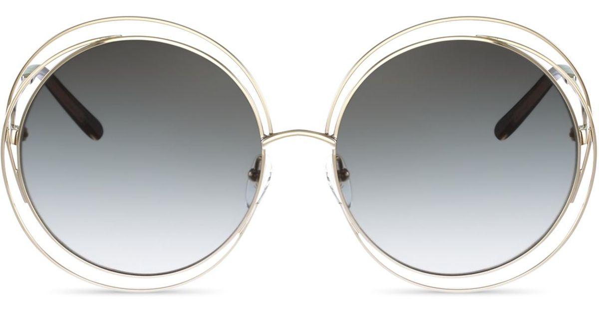 bf40ee0e990 Chloe Oversized Round Sunglasses « Heritage Malta